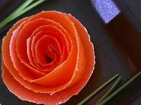 Rose en peau de tomate