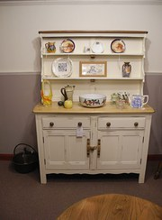 Ercol painted kitchen  dresser