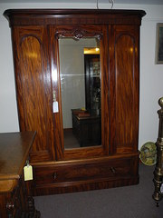 Victorian Mahogany Wardrobe