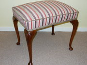 Victorian Walnut Dressing Stoo