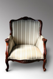 A Victorian Library chair