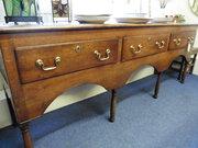 18th century camarthenshire oak dresser