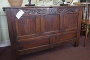 antique oak blanket chest