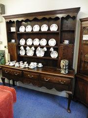 antique oak montgomery dresser
