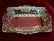 antique silver bon bon dish