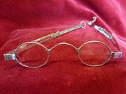 antique silver georgian extending spectacles