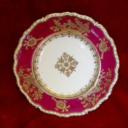 antique spode circular dish c1920