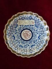 antique worcester c1780 dish