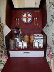 brexton vintage car picnic set