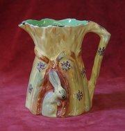 burleigh ware wheatsheaf jug