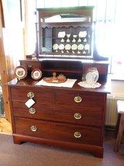 edwardian mahogany dressing chest