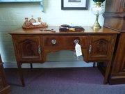edwardian inlaid desk / dressing table