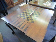 georgian style mahogany games table
