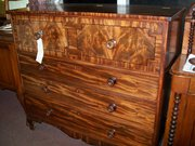 late victorian mahogany chest of drawers