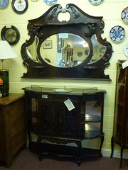 victorian mantel mirror