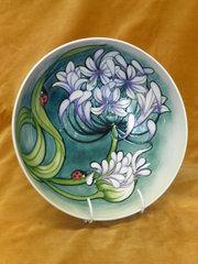 moorcroft bowl by rachel bishop