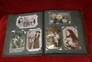 original collectors postcard album c1910