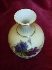 royal worcester miniature vase
