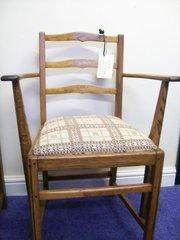 set of 6 ercol penn ladderback chairs