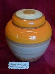shelley art pottery ginger jar