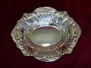 silver bon bon dish