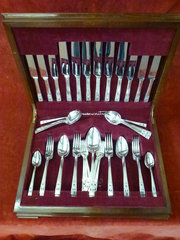 silver plated cutlery set