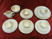 susie cooper 18 piece tea set