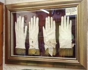 two pairs of antique kid gloves