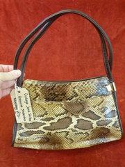 vintage jane shilton snake skin bag
