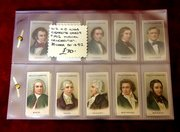 w.d.h.o wills cigarette cards musical celebrities