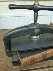 antique book press by water low and sons