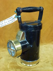ceag brass electric mine lamp