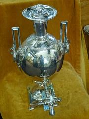 silver plated samovar c1933