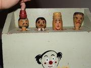 Vintage Wooden Popup Toy  Hist