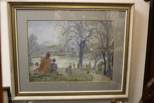 London Scenes 'A Day in by Martin Frederick Hamlyn
