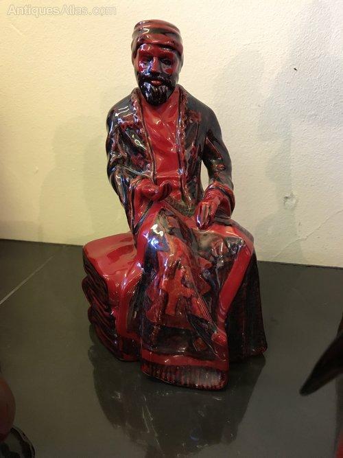 Royal Doulton Flambé figurines