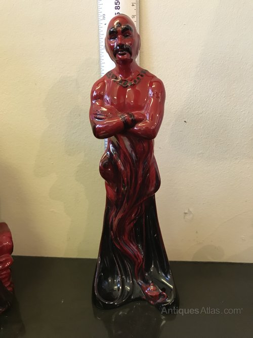Royal Doulton Flambe Figurine 'The Genie'