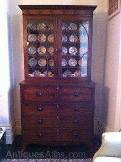 Superb Secretaire Bookcase