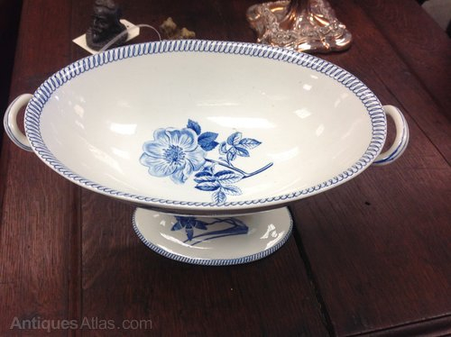 Selection of Wedgwood 'Botanical' transfer ware