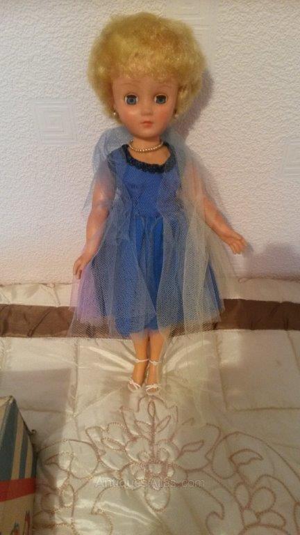 "Vintage Pedigree 14"" Doll - Shirley"