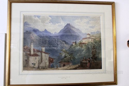 William Collingwood Smith Framed Picture