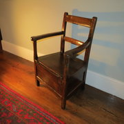 Welsh box chair c1800