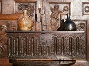 17th century jacobean carved o