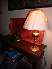 1900 Gardon French Oil Lamp