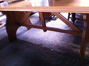 1950s Custom Made Table Gothic