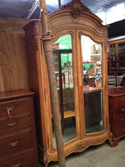 French Armoire Louis XV Style