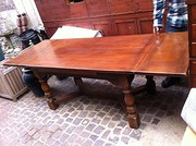 Large Drawleaf Refectory Table
