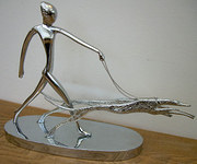 A Hagenauer figure of a woman