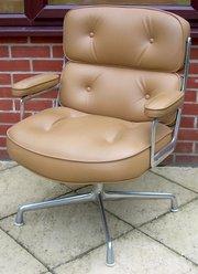 A Time Life lobby chair