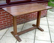 Heals oak refectory table